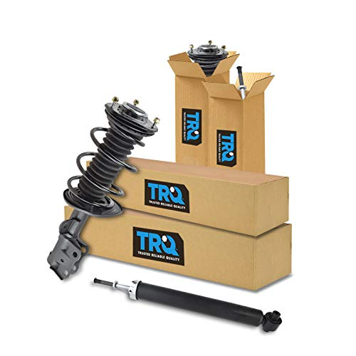TRQ Front & Rear Quick Complete Loaded Strut Spring Assembly Shock Kit Set 4pc New for 2010-2015 Toyota Prius