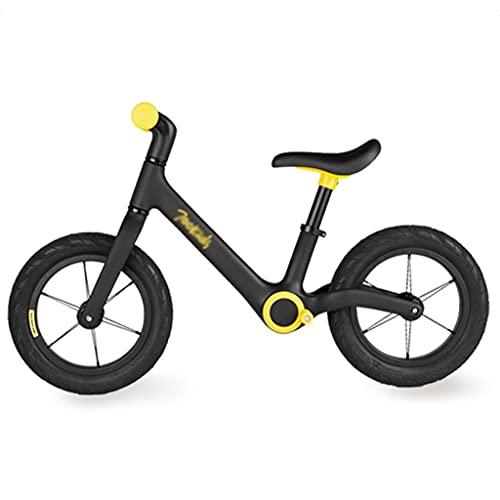 LiRuiPengBJ Bicicleta para niños Bicicleta de Entrenamiento para Niños Pequeños Balance Bike, Altura del Asiento Ajustable Bicicleta Scooter Sin Pedales para Niños de 2 A 7 Años (Size : 12inch)