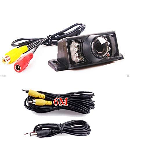 Auto coche de marcha atrás cámara IR Visión Nocturna Color Impermeable PAL/NTSC cámara ayuda de aparcamiento Cámara de marcha atrás