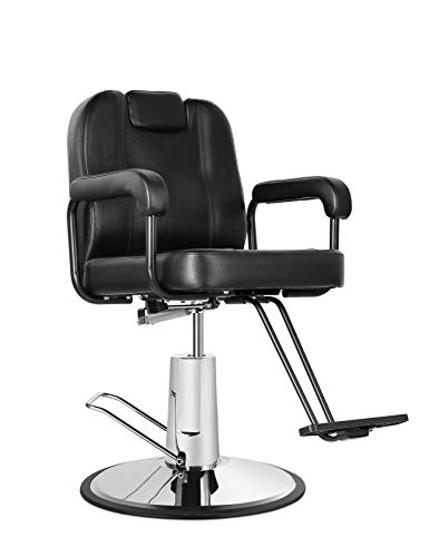 Purchase Eastmagic Hydraulic Reclining Salon Chair Barber Chair for Hair Stylist with Movable Headre...