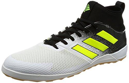 adidas Herren Ace Tango 17.3 in Fußballschuhe, Weiß (Footwear White/solar Yellow/core Black), 43 1/3 EU