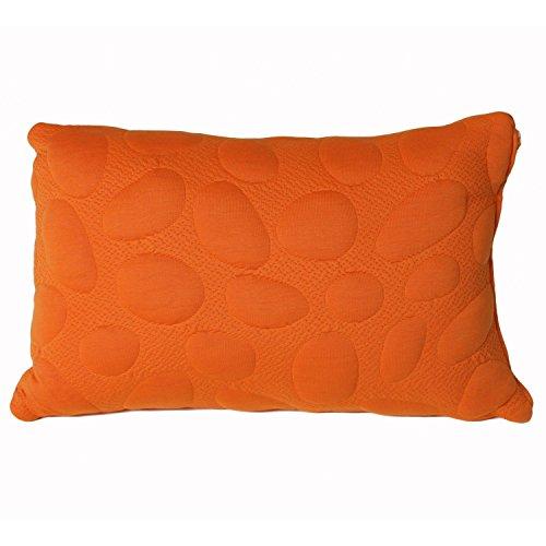 Nook Pebble Queen Size Pillow - Poppy