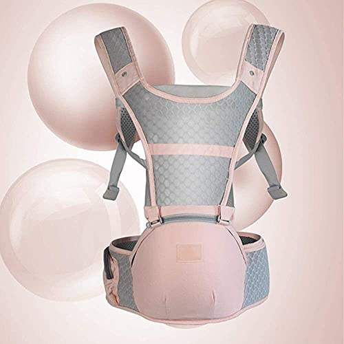 HLD Mochilas portabebé Transporte de bebé Universal Baby Sling Cintura Taburete Multifunción Cochecito Ajustable Bebé Portador Front-Holding Tipo Frente y trasero Taburete de excursión para niños Dual