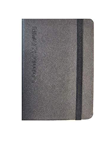 Agenda Comix Biday 2020 Bigiornaliera Nera con Elastico Formato Mini 7x10 cm
