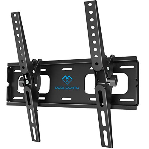Supporto TV Inclinabile - Staffa da Parete per TV da 26-55 Pollici, Max VESA 400x400, Staffa Ultra Resistente 60 kg