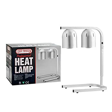 Chef-Master 90050 Professional Heat Lamp, Silver