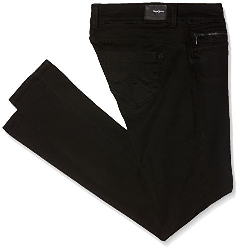 Pepe Jeans Damen Slim Jeans NEW BROOKE, Blue (10oz Washed Black), 27W/32L