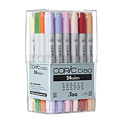top 10 copic markers Copic Chao Marker 24-piece set