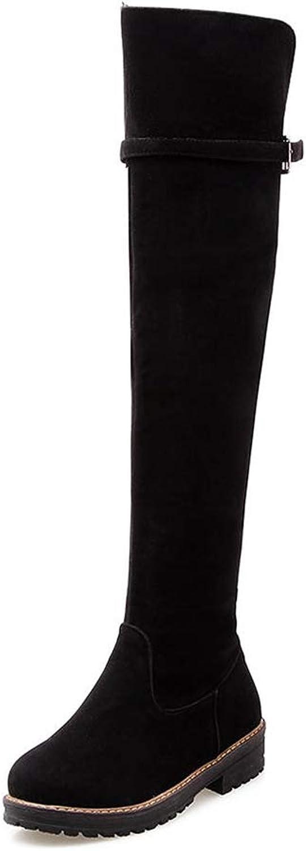T -JULY Mode Woherrar skor kvinnor -höga stövlar Värme Värme Värme kvinna skor Lägg till Fur Winter Snow stövlar Plus Storleks 34 -43  försäljning online spara 70%