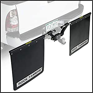 Rock Tamers Hitch Mounted Mudflap System