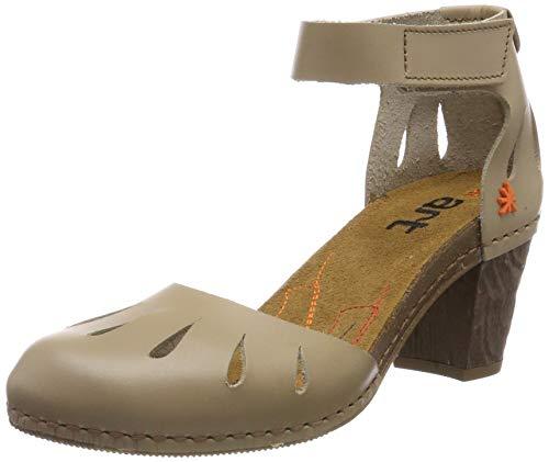 art Damen 0144 Becerro I Meet Geschlossene Sandalen mit Keilabsatz, Beige (Sand Sand), 39 EU