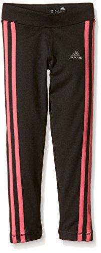 Adidas Mädchen Clima Tights, Schwarz/Pink, 116, AB4788