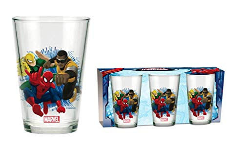 Marvel Spider-Man Glas Gläser 3er Set