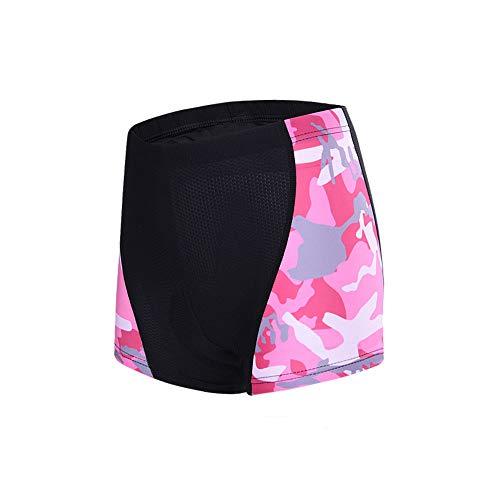 Pessica fietsondergoed voor dames, fietsondergoed, hoog elastisch ademend, ijs, glad, dik siliconen kussen