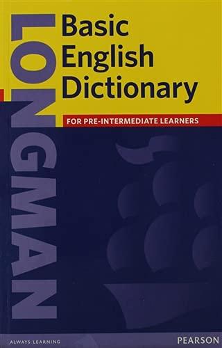 english dictionaries Longman Basic English Dictionary. (Basic Dictionaries)