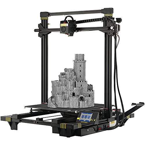 ANYCUBIC Chiron 3D Printer, Semi-auto Leveling Large FDM Printer with Ultrabase Heatbed, Suitable for 1.75 mm Filament, TPU, Hips, PLA, ABS etc. /...