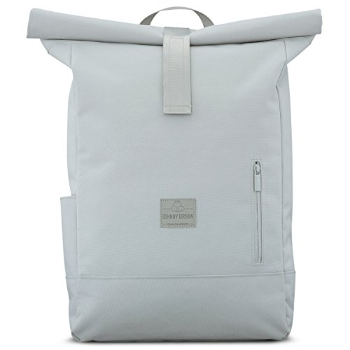 Backpack Men & Women Gray - JOHNNY URBAN'Aaron' from Recycled PET -...