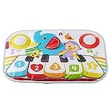 Fisher-Price Mon Piano de Lit pour lit bébé à barreaux, sons, mélodies et lumières, 3 niveaux de jeu, dès la naissance,...