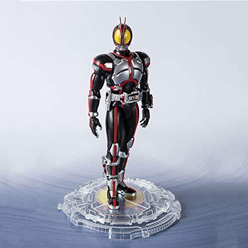 STKCST Anime Personajes enmascarados Superman 20 Aniversario de Ye Qiao móvil de la muñeca de Gama Alta Modelo Escultura Decoración Estatua Altura 15CM
