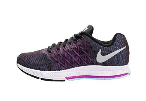 Nike Wmns Air Zoom Pegasus 32 Flash, Scarpe da Corsa Unisex-Adulto, Viola/Argento Riflettente...