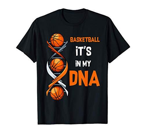 Basketball It\'s In My DNA Ballsport Training Geschenkidee T-Shirt