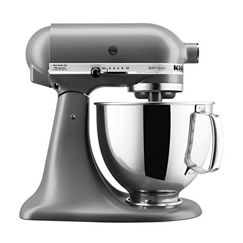 KitchenAid Artisan 5KSM150PSEFG Grau Matt mit Profiausstattung