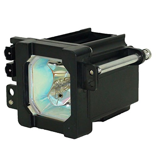 Lutema Platinum for JVC TS-CL110UAA TV Lamp with Housing (Original Philips Bulb Inside)