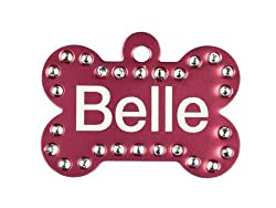 product image: Swarovski Crystal Pet identification Tag
