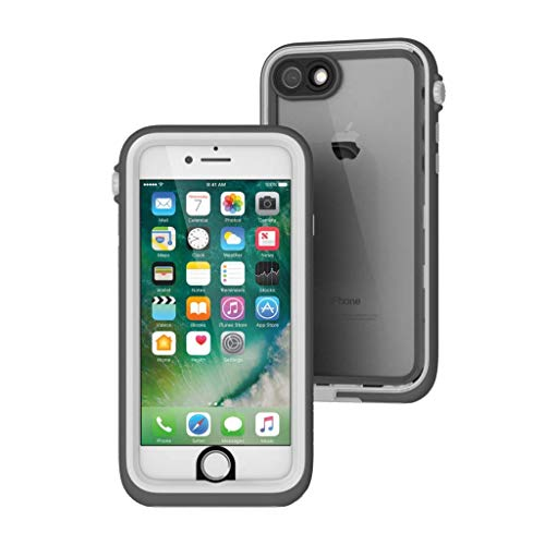 Waterproof Case for iPhone 7, Shock Proof, Drop Proof by Catalyst for iPhone 7 with High Touch Sensitivity ID (White)