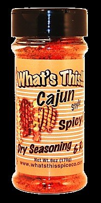 What's This Cajun Dry Seasoning & Rub