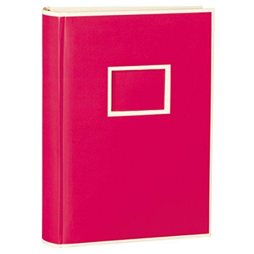 Semikolon 300Pocket Bound photo album, Pink, Holds 300 4' x 6' photos