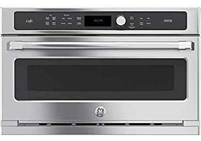 """GE CSB9120SJSS Cafe Advantium 30"""" Stainless Steel Electric Single Wall Oven - Convection"""