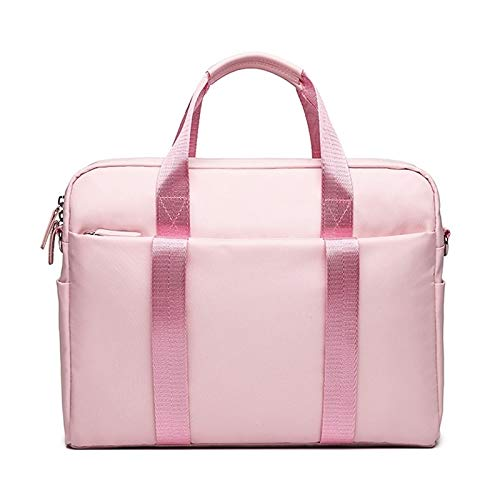 WXX Creative Hanging Belt Silver Laptop Bag, Size: 13.3 Inches (Black) (Color : Pink)