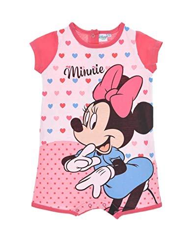 Minnie Barboteuse bébé Fille Disney Rose de 6 à 24mois - Rose foncé, 6 Mois