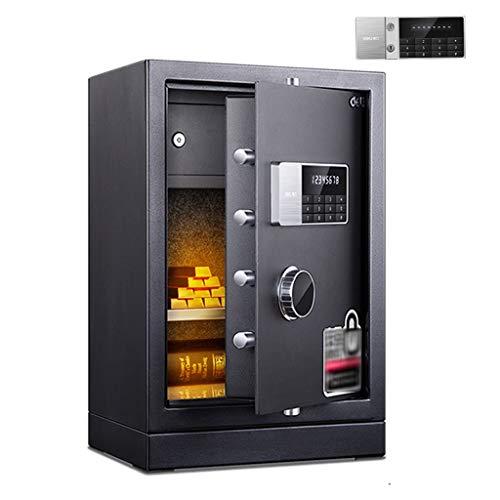 Sicherheitsschrank Electronic Startseite Safe Mit Medium Elektronischer Passwort Safe Versteckter Haus Nachttisch Wand-Anti-Diebstahl-Safe (Color : Black, Size : 35 * 31 * 55cm)