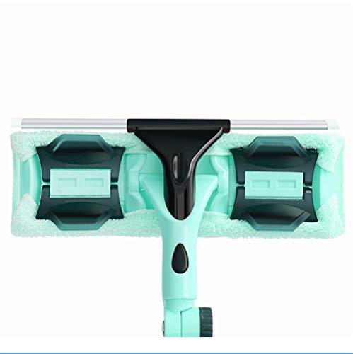 Belt Poste telescópico Escobillas de Goma Cepillo de Ventana de plástico, rotación...
