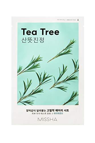 Missha Airy Fit Sheet Mask (Tea Tree), 20 g