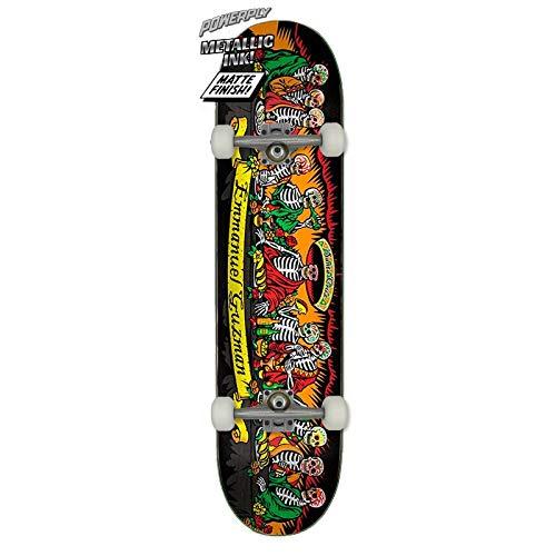 Santa Cruz Powerply Guzman Dining Dead Skateboard Complet 8,27 inch