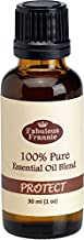 Fabulous Frannie Protect 30 milliter (Compared to Thieves) Pure, Undiluted Essential Oil Blend Therapeutic Grade Aromatherapy Blend of Clove, Lemon, Cinnamon, Eucalyptus and Rosemary Essential Oil