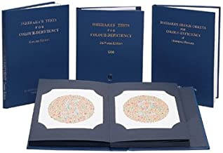 Ishihara Test Chart Books, for Color Deficiency