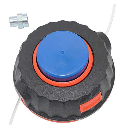 P SeekPro P25 - Cabezal para desbrozadora Flymo Craftsman Jonsered Husqvarna Poulan 530095846 5...