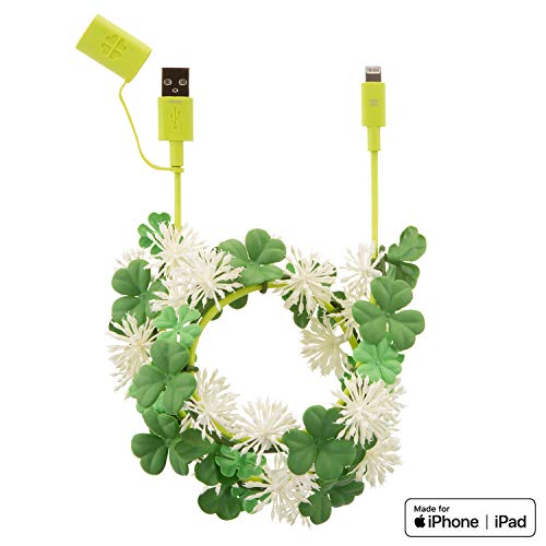 iPhone 充電ケーブル SoftBank SELECTION HANA-KANMURI Cable with Lightning Connector ギフト プレゼント 景品