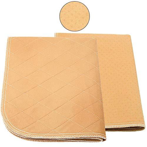 Mihachi Pet Pee Pad 2 Pack - 24x 20, Reusable Washable Dog Training Pee Pads, Anti-Slip Waterproof Bed Mat