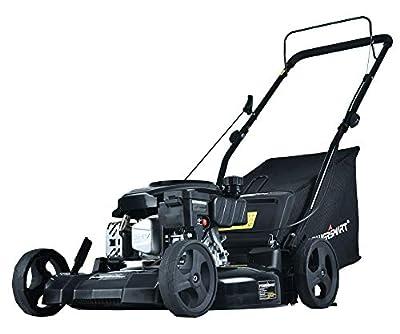 PowerSmart DB8621PR 21 inch 3-in-1 170cc Gas Push Lawn Mower