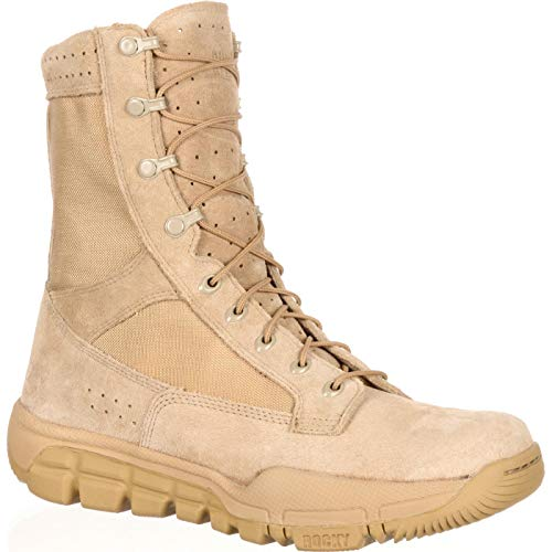 Rocky Lightweight Commercial Military Boot Desert Tan