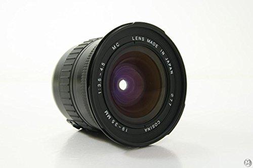 Cosina Weitwinkelobjektiv 19-35mm f3.5-4.5 für Canon EOS 1D X, 1D Mark I-IV, 1Ds Mark I-III, 5D Mark II III, 5D 7D 10D 20D 30D 40D 50D 60D 300D 350D 400D 450D 500D 550D 600D 1000D 1100D