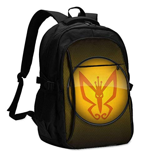 XCNGG TV Show Venture Bros Laptop Backpack Anti Theft Water Resistant Durable Computer Bag USB Charging Port Fits 15.6 Inch Laptop and Notebook College School Business Travel