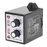 Knob Control Time Switch Relay Timer Switch Relay Timer Relay Twin Timer Relay On Off Twin Timer Short Period Repeat Cycle Timer