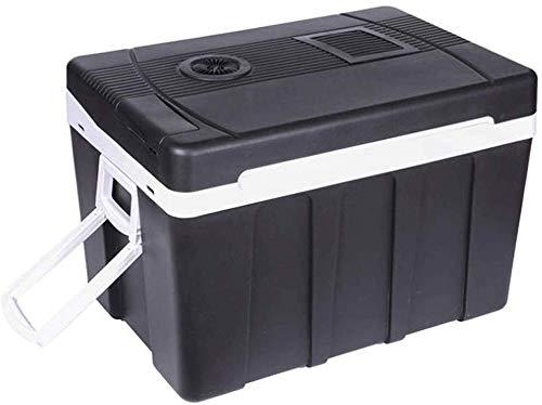 dljyy Koelbox, voor in de auto, 50 liter, voor verwarming en koeling, kleine koelkast, mini-koelkast
