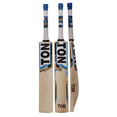 SS English Willow Cricket Bat Full Size (Full Size, Ton Elite)